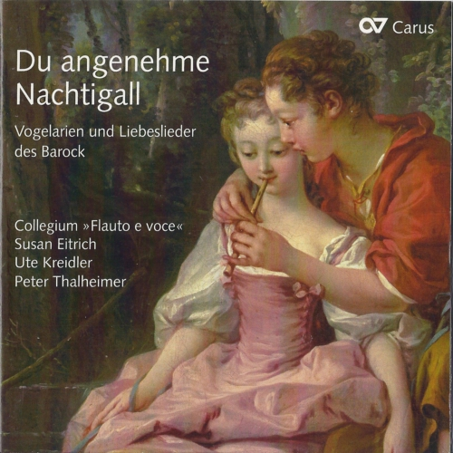 Du angenehme Nachtigall CD - Cover